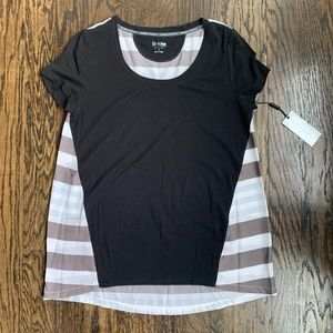 NWT Calvin Klein Peformance Quick Dry Workout Top